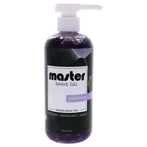 Master Shave Gel with Smokey Oud 16oz.