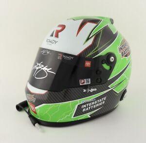 Kyle Busch signed 2021 interstate batteries full size nascar helmet authenticity