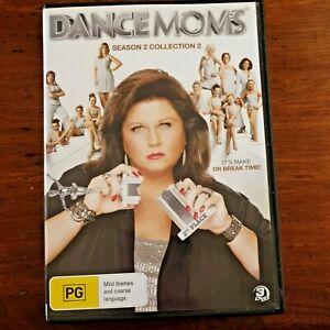Dance Moms : Season 2 : Collection 2 (DVD, 2014, 3 DVD Set) VERY GOOD FREE POST