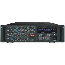 Pyle Pmxakb2000 2000W Bt Stereo Mixer Karaoke Amp Mic/Rca Audio/Video