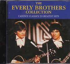 THE EVERLY BROTHERS COLLECTION  - 20 GREATEST HITS - CD -