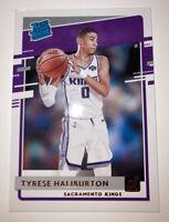 2020-21 Donruss Tyrese Haliburton Rated Rookie Sacramento Kings #231 RC