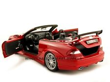 MERCEDES BENZ CLK DTM AMG RED 1:18 DIECAST MODEL CAR BY KYOSHO 08462