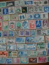 stamps  :  Canada 1950s/1960s selection, fine used.