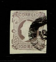 Portugal SC# 4, Used, signed back, certification - S10043