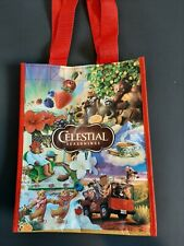 CELESTIAL SEASONINGS Reusable Tote Shopping Gift Bag Set of 2