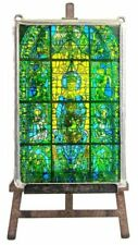 Stained Glass Art Glassware Date-Lined Glass