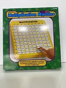Lakeshore Multiplication Machine Math LC1168 New
