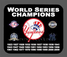New York Yankees World Series Championship Banner Mouse Pad Item#1906