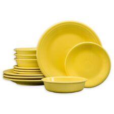 Fiesta 12-Piece Classic Dinnerware Set in Sunflower