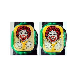 Ultra Rare 1960's McDonalds Ronald McDonald Eating Hamburger Flicker Ring Green