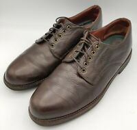 Red Wing Shoes Made In USA Oxford Brown Leather Casual Dress Men's Size 11 D