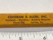 Cochran & Allen, inc. Hardware, Plumbing Building Materials Carlisle, Pa. Pencil