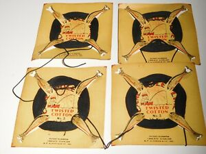 Vintage - B F Gladding & Co. Twisted Cotton No 3 Fish Line On Cards>New