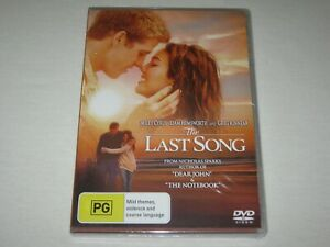 The Last Song - Miley Cyrus - Brand New & Sealed - Region 4 - DVD