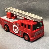 TOMY TOMICA TRACKMASTER RARE 1993 BATTERY Fire Engine TW-10 SUPERB #1158