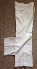 Gap Linen White Trousers Size Uk10 Bn