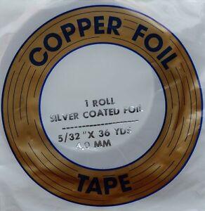 EDCO - Kupferfolie 5/32 silber, 4,0 mm