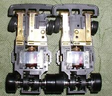 AURORA AFX TCR SLOTLESS SPEEDSTEER A and B CHASSIS LOT
