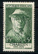STAMP / TIMBRE FRANCE OBLITERE N° 1069 CELEBRITE / CHARDIN COTE 10 €