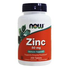 NOW Foods Zinc 50 mg., 250 Tablets