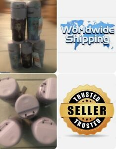 5 Disney Frozen Elsa Anna Thermos Stainless Steel Funtainer 12 Oz BACK TO SCHOOL