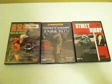LOT OF 3 DVDS Street Biker Volume 2:, Streetbike Animosity 2, Road Rage #3 DVD