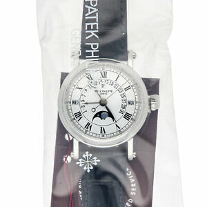 Patek Philippe Grand Complications Calendar Auto Platinum Mens Watch 5059P-001