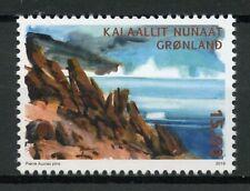Greenland 2019 MNH Arctic Deserts 1v Set Mountains Tourism Landscapes Stamps
