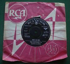 """Hugo Montenegro Hang Em High / Tomorrow's Love (Morir Un Poco) RCA1771 7"""" Single"""