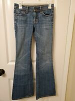 Womens Citizens of Humanity ingrid 002 Low Waist Flair Stretch Jeans Size 24