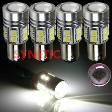 4x 1157 2057A High Power Cree 6000K White Brake/Stop/Tail  LED Lamp Light Bulbs