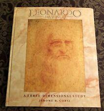 Leonardo Da Vinci A Three Dimensional Study Jerome Corsi Illustrated Popup Book