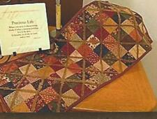 Hot Cross Candy table runner quilt pattern by Pastthyme Patterns