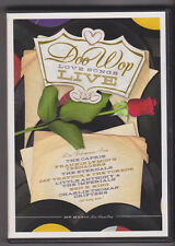 PBS Doo Wop Love Songs Live-DVD (2 disc set)