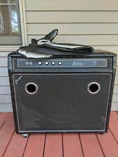 """Vintage 1972 Kustom """"Charger"""" 28-B Bass Amp w/Cover Local Pickup"""