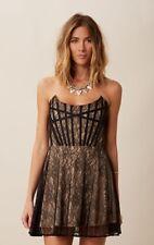 NWT For Love & Lemons Corset Mini Dress Size M