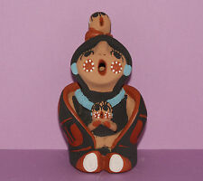 Native American Storyteller Figure by Helen Sando Garcia from Jemez Pueblo
