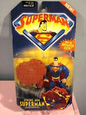 2001 Kenner Strong Arm Superman From The Animated Show
