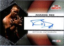 TNA Amazing Red 2009 Tristar Impact Silver Authentic Autograph Card DWC