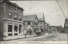 Newmarket NH Main St. #2 c1910 Postcard