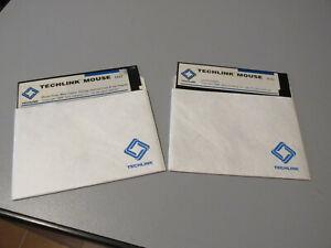 TECHLINK MOUSE Utility driver e tutorial vintage Floppy Disk - 2 dischi perfetti