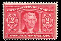 US #324 MNH OG 1904 2c 'LOUISIANA PURCHASE' Expo ~ Always Free Shipping!!