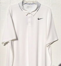 Nike polo golf shirt Icon Elite short sleeve XXL white nwt $65