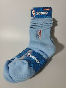 NBA League For Bare Feet NBA 2 Pack Quarter Sock - Boys Sky Blue Size 13,1-5