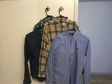 Men's Casual Shirts JCrew Ralph Lauren John Varvatos Lot of 4
