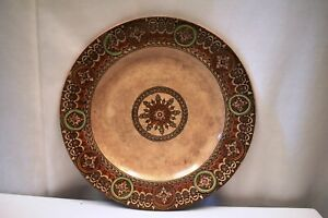 "Antique Porcelain Plate Transferware Print Tunstall Staffordshire eclipse rare"""