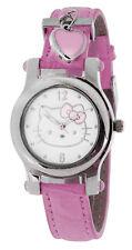 Hello Kitty HK1747 Hello Kitty Analog Quartz Display Pink band Watch