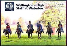 Waterloo 1815 Miniatures 1/72 WELLINGTON'S STAFF AT WATERLOO Metal Figure Set