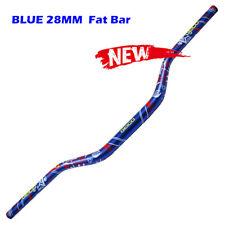 28mm Fatbar Handlebars YZ/YZF Blue Yamaha YZ450F/YZ250F 4-Stroke 2007-2009